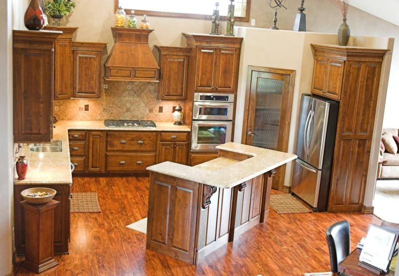 Sioux Falls Kitchen And Bath Gallery Kitchen Gallery Knotty Alder S1607